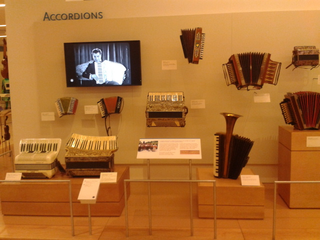 The accordion display